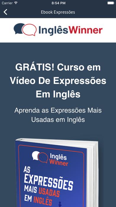 Curso Inglês Winner screenshot three