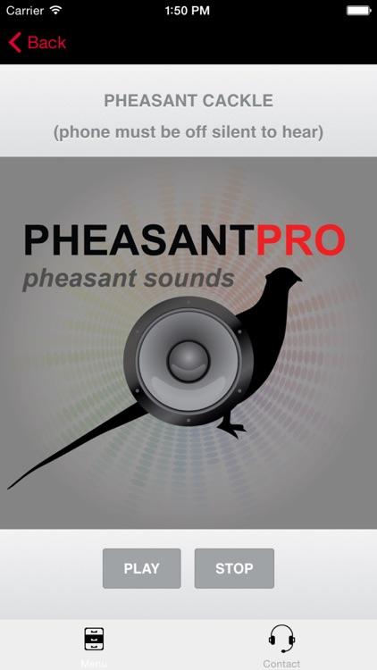 REAL Pheasant Calls & Pheasant Sounds for Pheasant Hunting screenshot-0