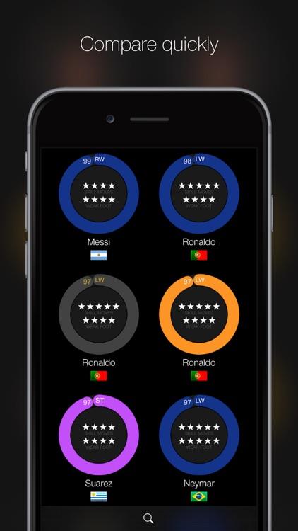 iFUT 16 - Ultimate Team Player Database for FIFA 16 screenshot-3