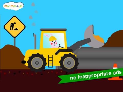 建設車両 -  子供のためのゲーム, アクティビティ、お絵かきのおすすめ画像2