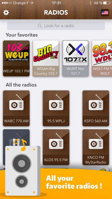 American Radio - access all Radios in USA FREE!