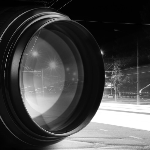 Black and White Picture Camera