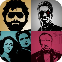 Guess the Movie Shadow Quiz (pop picture trivia guessing game) – discover the movies of the 80's 90's and now as you play this fun new puzzle trivia word game. Featuring cool posters of famous celebrities, cartoon characters and theatre stars. Free!