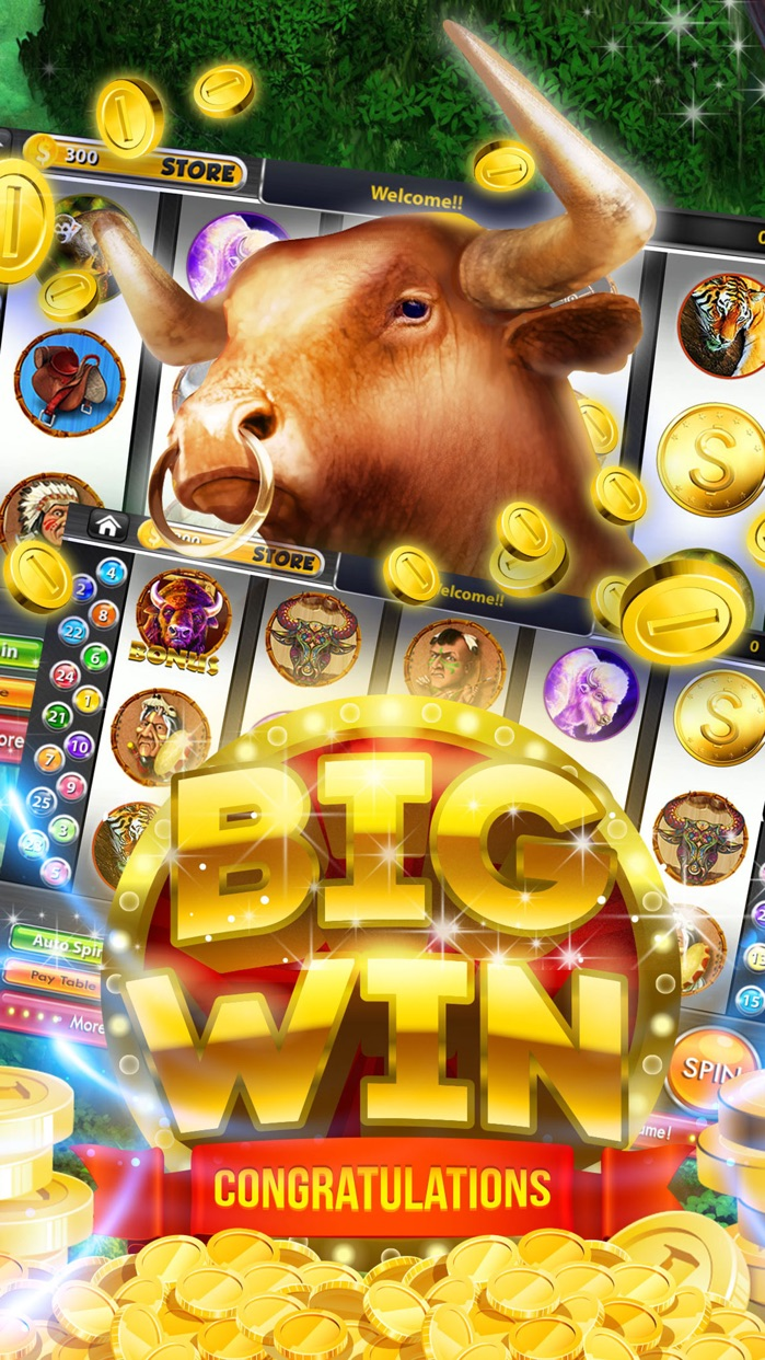 Buffalo Slots Cherokee Buffalo Slot Machines-Play Free Real Fun Las Vegas Slots Games & Win Big Jackpots! Screenshot