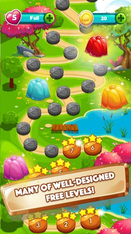 Gummy Pop World Mania - Fun New Free Matching Game