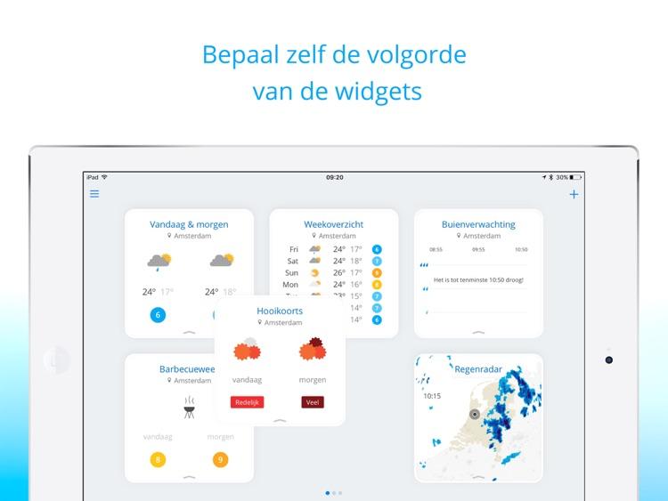Weeronline voor iPad