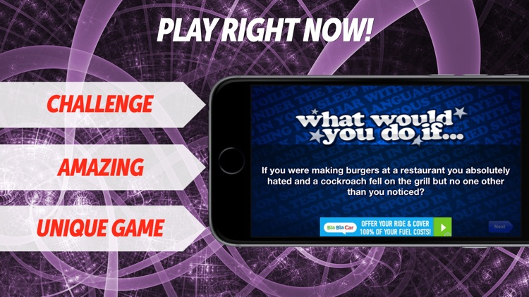 What Would You Do If... FREE Party Game