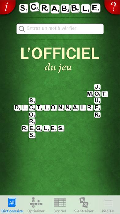 L'Officiel du SCRABBLE® Dictionnaire