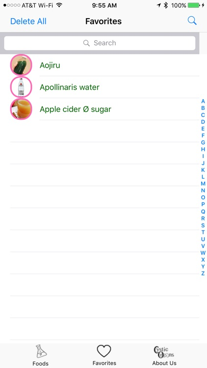 Alkaline Diet Foods screenshot-2