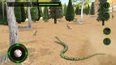 Ataque de serpiente real de vuelo Simulador: Wild Hunt-Vida Los animales en el bosqueCaptura de pantalla de2