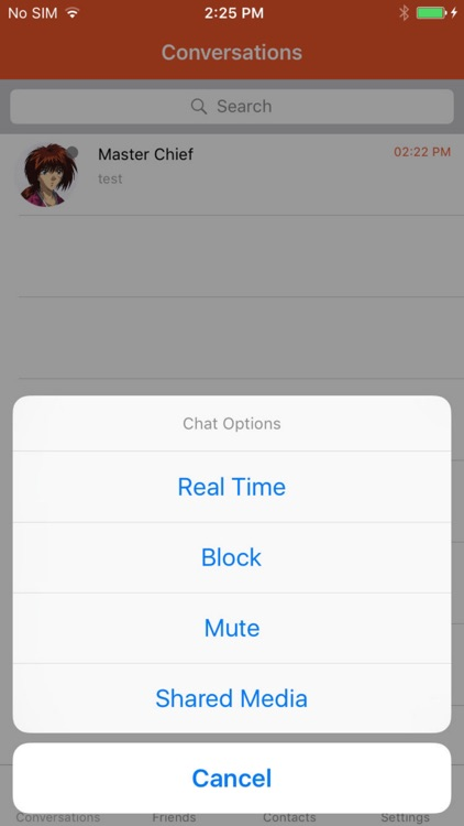 Now Messenger   Real-time screenshot-3
