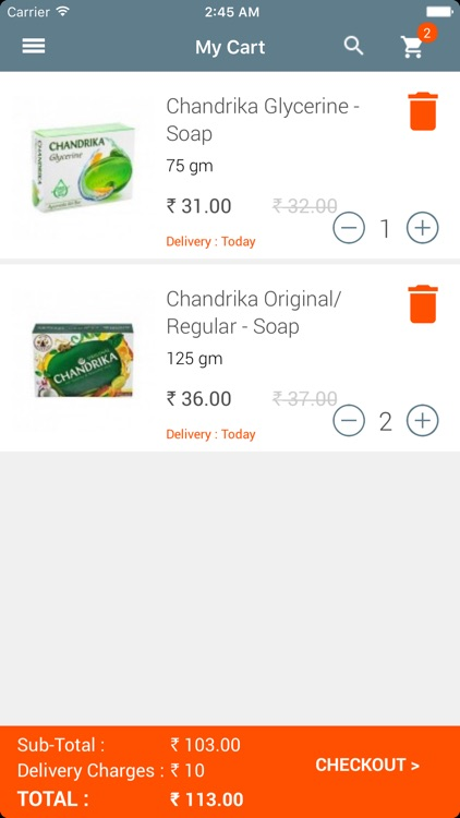 delivOn - Online Grocery screenshot-3