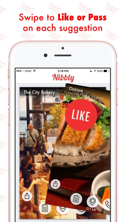 Nibbly: Discover Restaurants Near Me