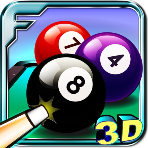 Real Billiard 8 Ball Pool 3D a Sports Game Free
