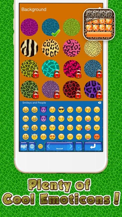 Cheetah Keyboard Skins for iPhone – Animal Print Design.s and Custom Themes Free screenshot-4