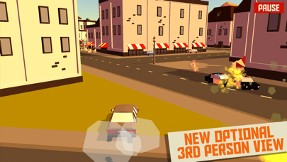 Screenshot from PAKO - Car Chase Simulator