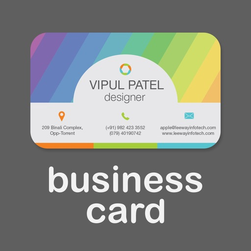 Business card creator create custom design print your own business card creator create custom design print your own visiting card app logo reheart Image collections