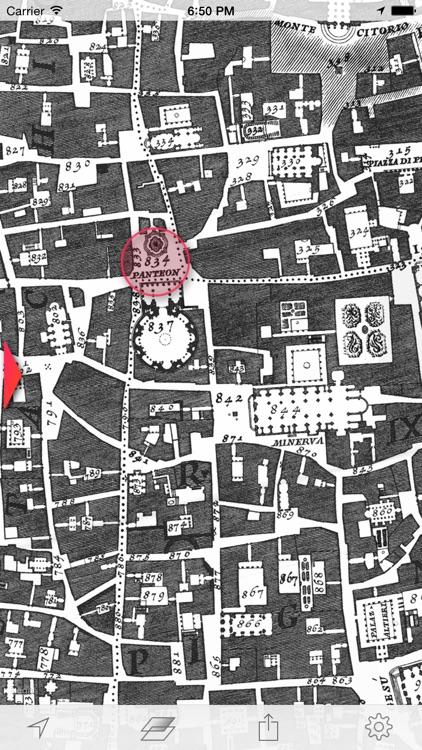 Nolli - Navigate 18th century Rome screenshot-4