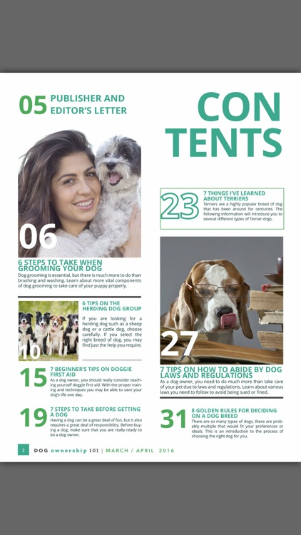 Dog Ownership 101 Magazine