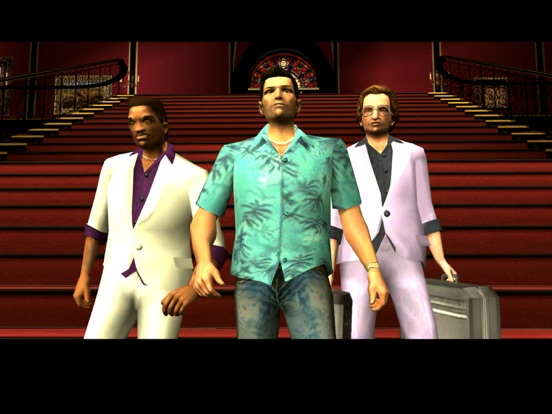 Grand Theft Auto: Vice City iPad
