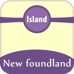 Newfoundland Island Offline Map Tourism Guide