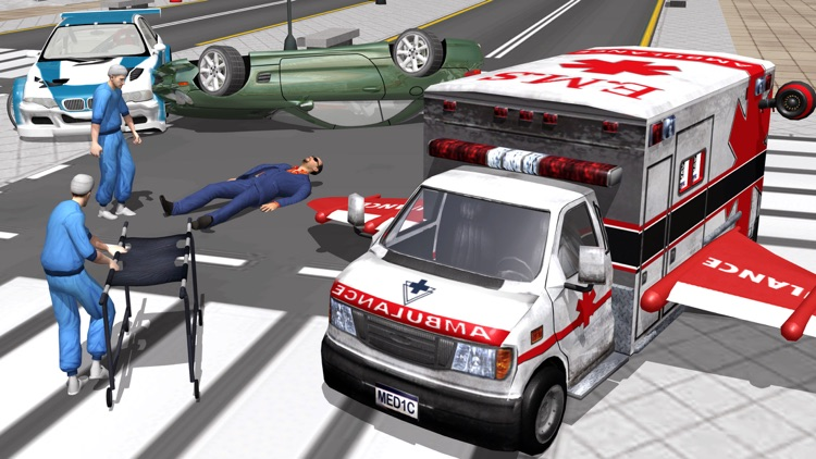 Multilevel Flying Ambulance HD Bundle ID