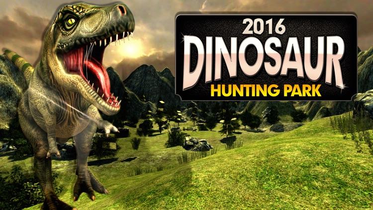 2016 Dinosaur Hunting Park 3D : Reload Dino World Safari Hunt Season Games screenshot-4