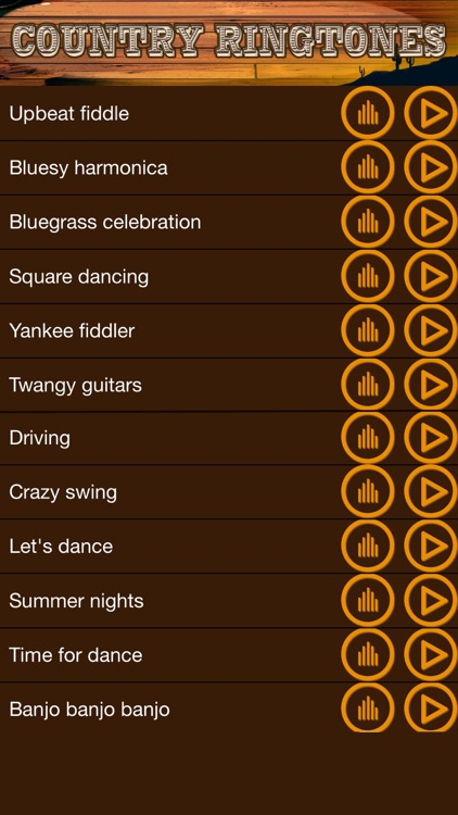 Country Music Ringtones – Sounds, Noise.s and Melodies for iPhone