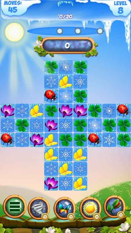 Frozen Fairy: Match 3 Cascade screenshot-4