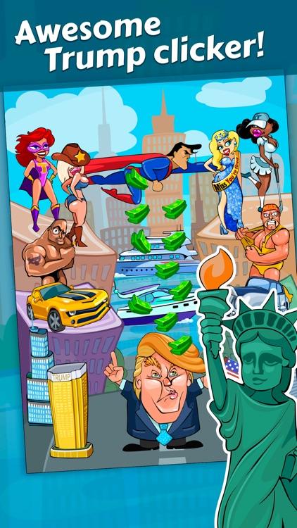 Rich Donald Trump Clicker Free screenshot-3