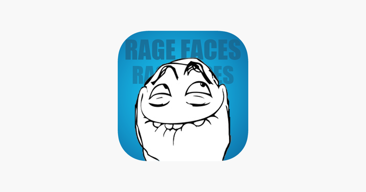 Sms Rage Faces 3000 Faces And Memes On The App Store