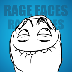 ‎SMS Rage Faces - 3000+ Faces and Memes