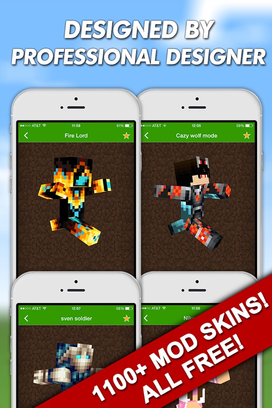Minutes To Hack Mod Skins For Minecraft PE Pocket Edition - Skins para minecraft no pc