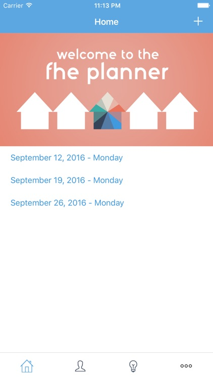 FHE Planner - The LDS Family Night App