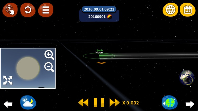 You Know Solar Eclipse? It's so straight! screenshot-3