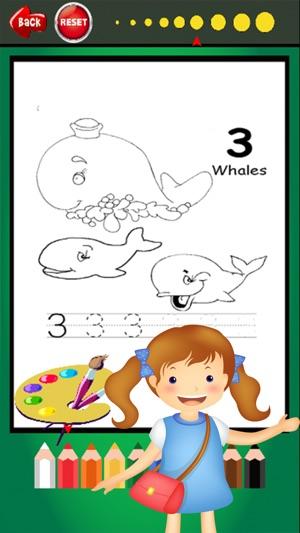 Fácil Coloring Book - rastreo de páginas para colorear abc juegos de ...