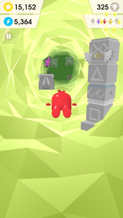 Catchy Crystals - Endless Cave Flyer screenshot-3
