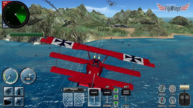 Combat Flight Simulator 2016 HD screenshot-3