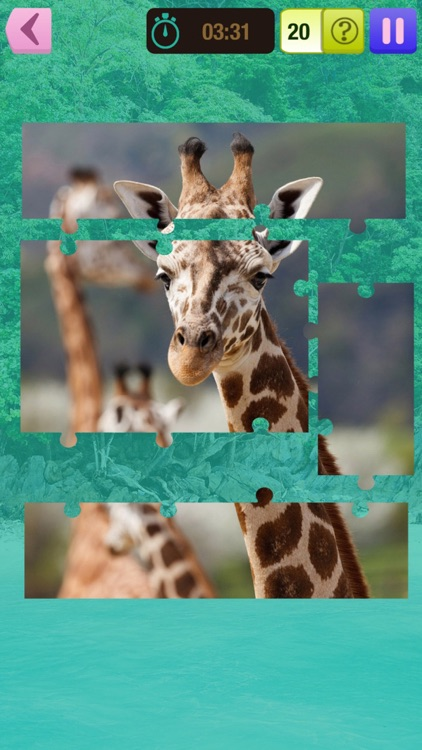 Animal Jigsaw Puzzle – Free Memory, Brain Exercise Game For Kids and Adult.s screenshot-3