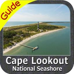 Cape Lookout National Seashore - GPS Map Navigator