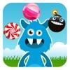 吃糖果的怪兽 - 儿童游戏免费3岁-6岁、宝宝游戏免费巴士大全、儿童智力游戏