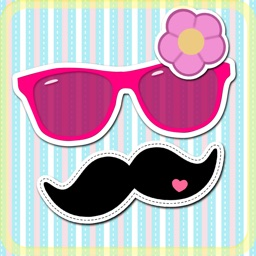 Cute Sticker Camera - Photo Editor with funny Animal and Hipster Face Stickers for Pics