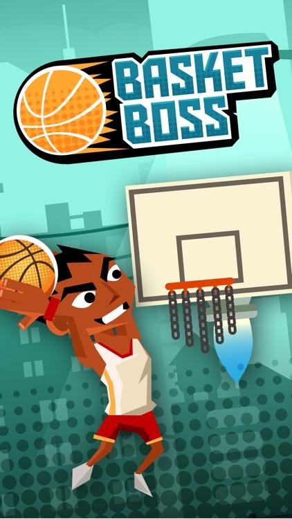 Basket Boss - Fun Arcade Basketball Hoops Shooter screenshot-3