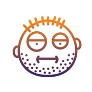 Real Emoji, Emoticon for WhatsApp, Viber, Messenger.