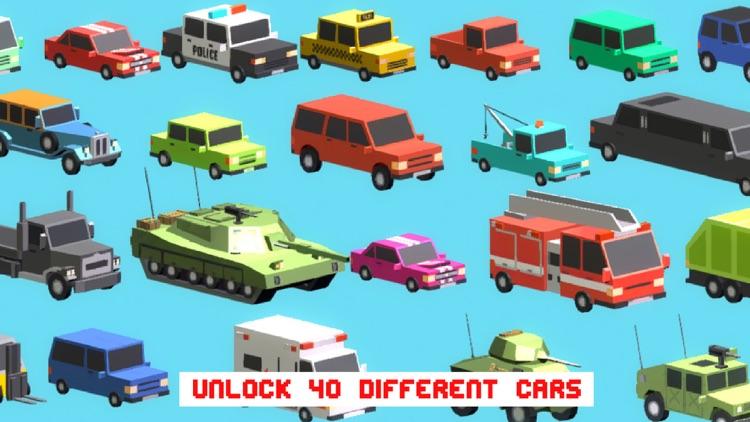 Smashy Dash - Crossy Crashy Cars and Cops - Wanted