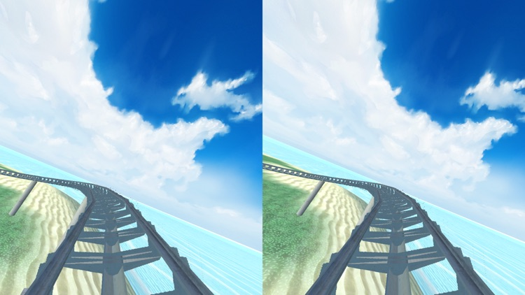 Virtual Reality Roller Coaster for Google Cardboard VR