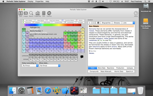 Periodic table explorer on the mac app store screenshots urtaz Choice Image