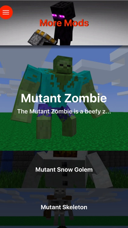 MUTANT CREATURES MODS for Minecraft PC - Best Pocket Wiki Edition & Installation Tools screenshot-3