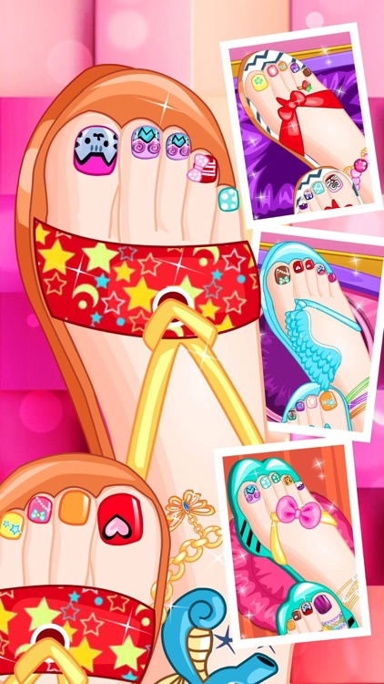Pedicure Boutique - Nail Salon, Girl Funny Free Games by PeiHong Jiang