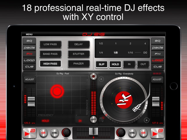 DJ Rig FREE for iPad on the App Store